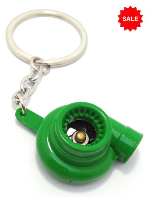 Turbo Keyring For Car and Bike [Metal keychain]