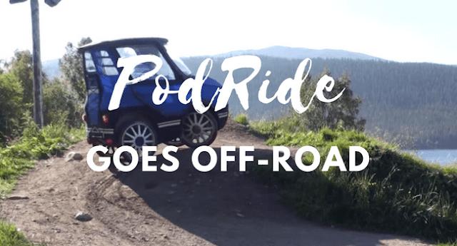 PodRide Goes Off-Road Uji Kemampuan