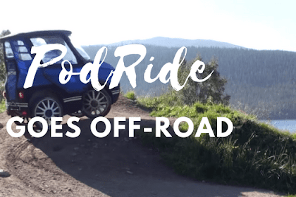PodRide Goes Off-Road: Uji Kemampuan Off-Road