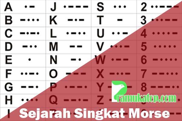 Yuk Belajar Sejarah Singkat Morse