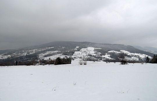 Przełęcz Glisne i Szczebel.