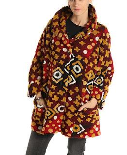 Cappotto in lana cotta per donna