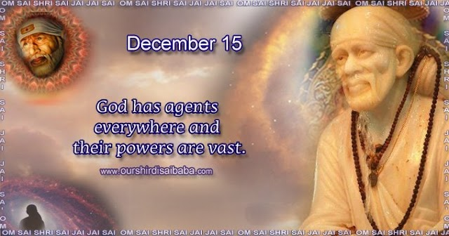My Sai Blessings - Daily Blessing Messages-Shirdi Sai Baba Today Message 15-12-19