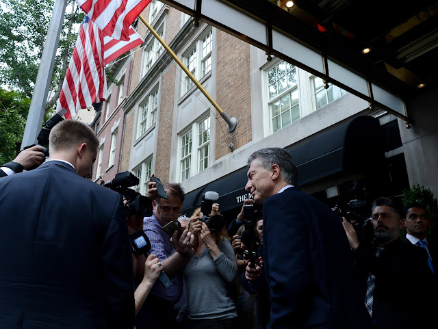 Macri llegó a Nueva York