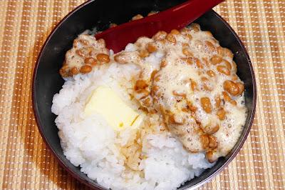 街で噂の『納豆バター醤油ごはん』感覚
