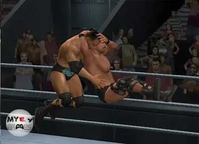 شرح حول تحميل لعبة WWE Smackdown Vs Raw 2010 للكمبيوتر من ميديا فاير