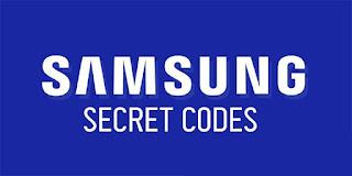 Samsung Galaxy Smartphone Secret Codes