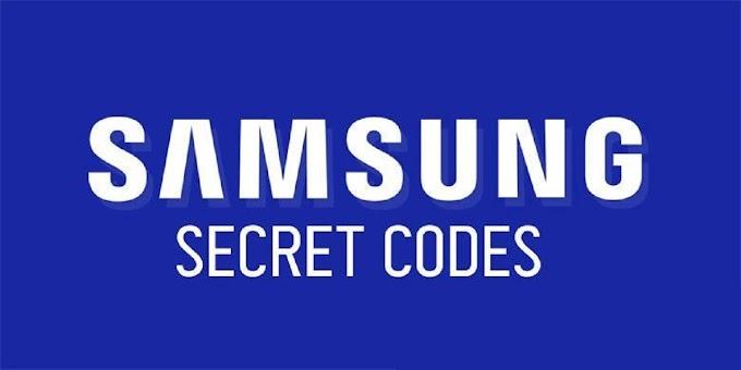 Samsung Galaxy Smartphone Secret Codes 2021