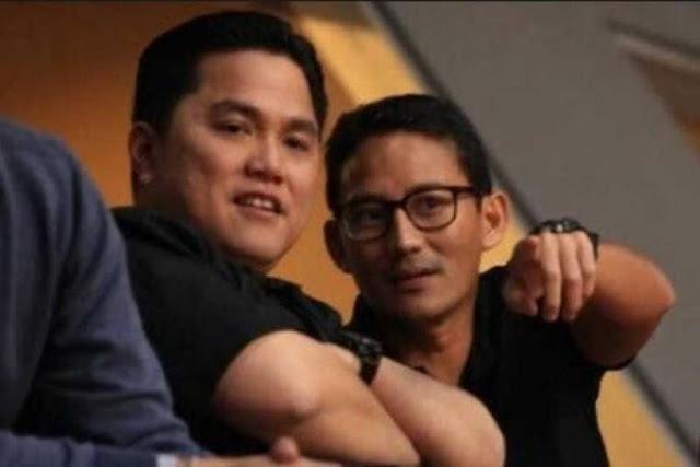 Erick Thohir Bisa jadi 'Jebakan Batman' Kubu Jokowi