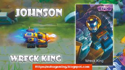 Skin Epic Jhonson Wreck King Terbaru, kalian wajib beli