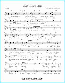 chord aunt hagar's blues 1 lagu jazz standar