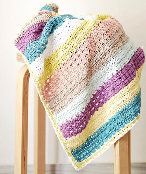 Stroller Blanket - NEW Crochet Pattern