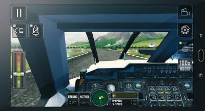 Screenshot Flight Sim 2018 Mod Apk + Obb Data