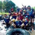 Idola Baru Wisata River Tubing di Desa Wangkal Probolinggo