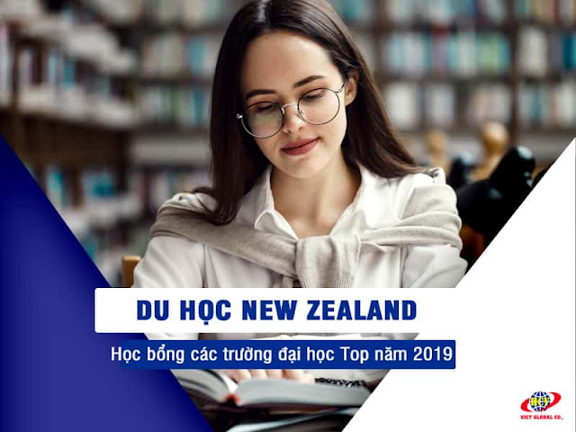 Du học New Zealand: Học bổng đại học New Zealand các trường Top 2019
