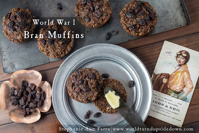 World War 1 Recipes Bran Muffins WW1