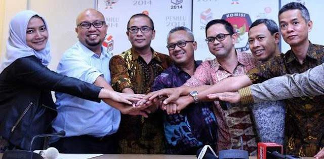 Benteng Prabowo: Segera Tutup Situng Dan Pidanakan Komisioner KPU
