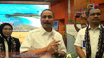 Untuk Pariwisata Flores, Ini pesan mantan Menteri Pariwisata RI