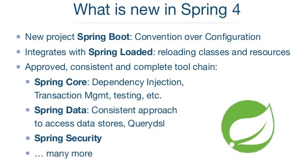 What is New in Spring Framework 4.x