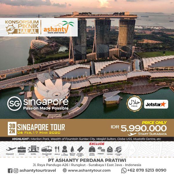 paket tour singapore murah plus tiket pesawat dari surabaya