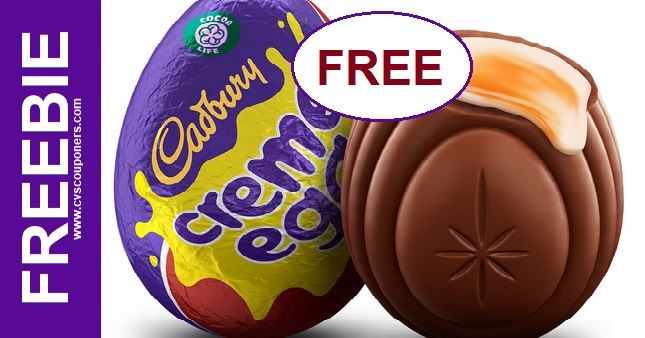 Cadbury Creme Egg CVS Freebie