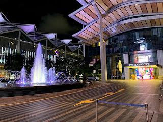 Drop-off area, JW Marriott Singapore Beach Road, 2021