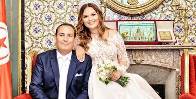 معز بن غربية و زوجته الصحفية ريم نور الدين