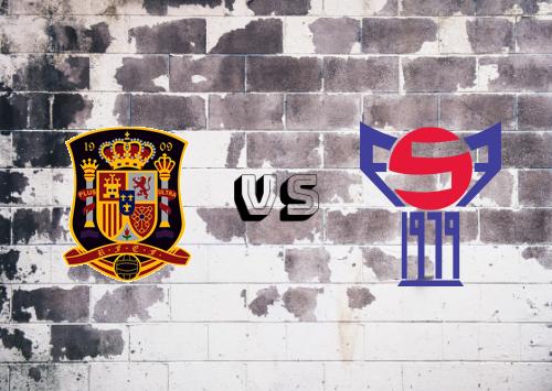 España vs Islas Faroe  Resumen y Partido Completo
