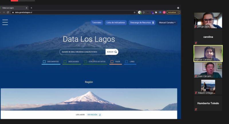 Data Los Lagos: datos económicos, sociales y ambientales