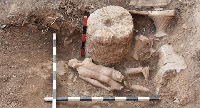 Ελληνικά αγάλματα βρέθηκαν στην Αντιόχεια Πισιδίας
