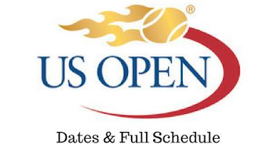 us open tennis 2017 dates & schedule