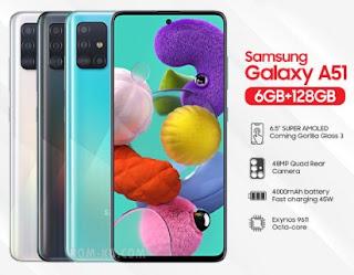 Firmware dan Cara Flash Samsung A51 SM-A515F