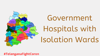 List of Government Hospitals with Isolation Wards