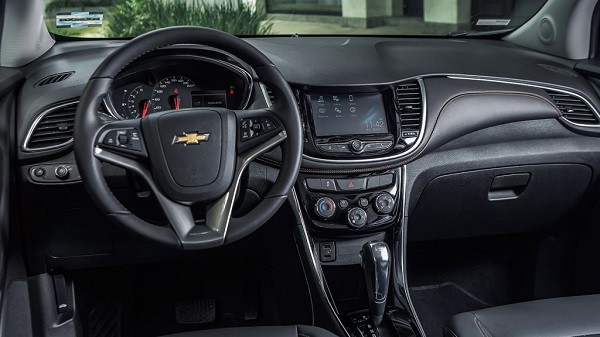 Interior Chevrolet Tracker