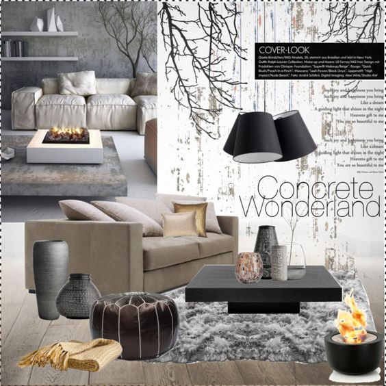 Concrete Design Interior Mood Board