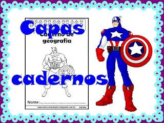 Capas para cadernos