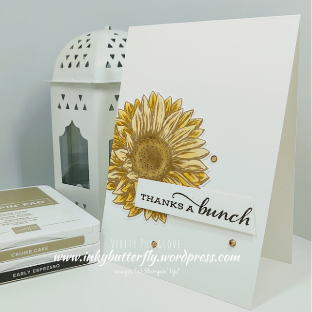 Celebrating Sunflowers Stampin Up