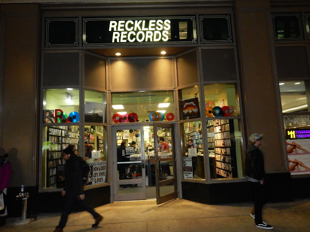 Reckless Records - Loop - Chicago Ill. - Exterior