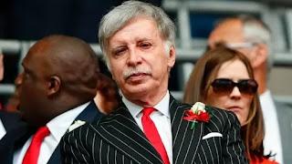 Kroenke has 'no intention' of selling Arsenal after European Super League backlash