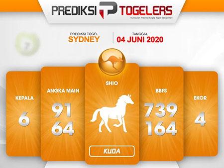 Kode Syair Sydney Kamis 04 Juni 2020 - Prediksi Togelers