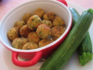 Zucchini dumplings