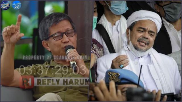 Rocky Gerung Nyatakan akan Pilih Habib Rizieq: Karena Dia <i>Probitas-Veritas-Iustitia!</i>