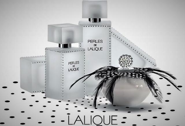 Perles de Lalique - paczula z różą