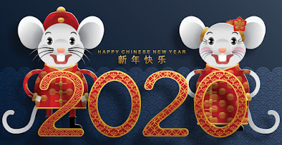 lunar Chinese new year 2020