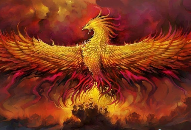 The Phoenix bird a story by Hans Christian Andersen