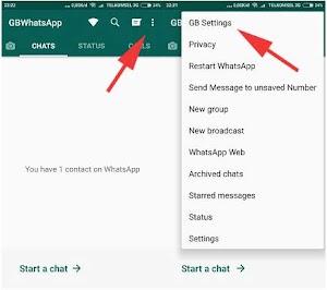 Cara Mengubah Bahasa di Aplikasi GB Whatsapp Versi Terbaru