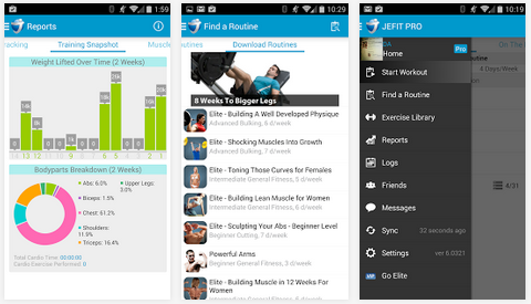 Download JEFIT Pro – Workout & Fitness v6 0506 Apk