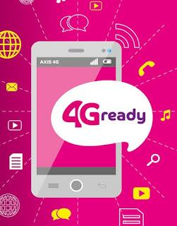 Cara Mudah Merubah Axis 3G ke Axis 4G