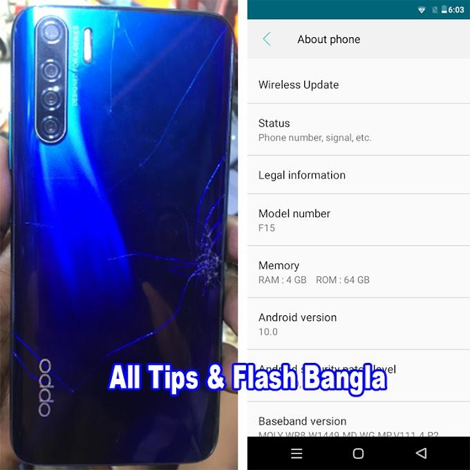 Oppo Clone F15 Flash File | MT6570 | Stock Rom
