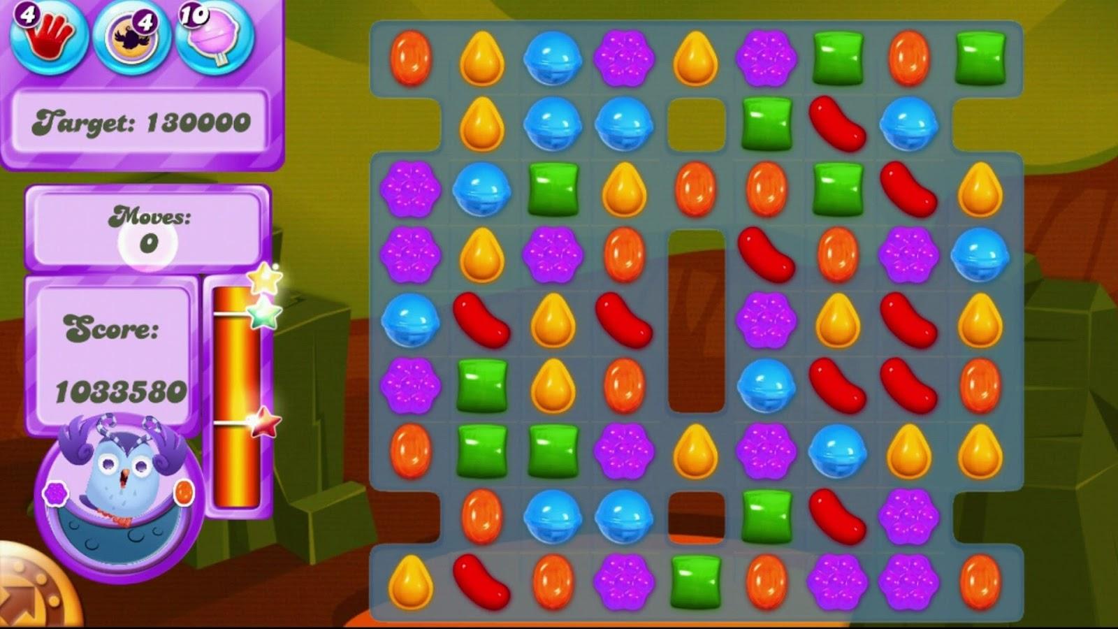 Screenshot gameplay candy crush soda saga - 1600 candy crush ...